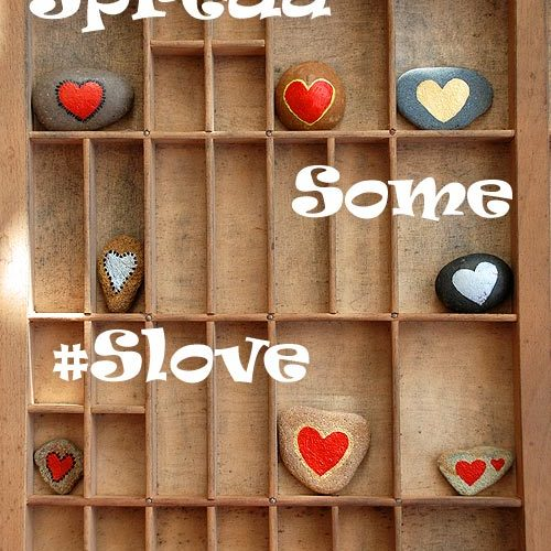 Heart Pebbles, Heart Stones And Love Rocks  … Lets Spread Some #SLove