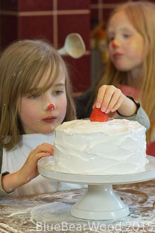 Cake Red Nose