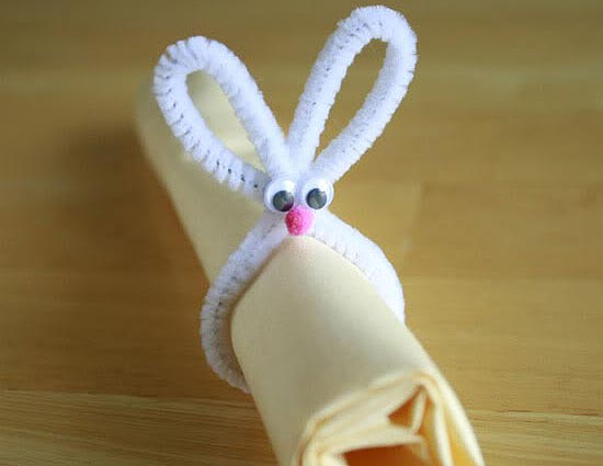 Pipe Cleaner Napkin wrap
