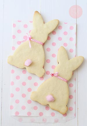 Simple Bunny Cookies