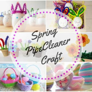 Spring Pipe Cleaner Crafts