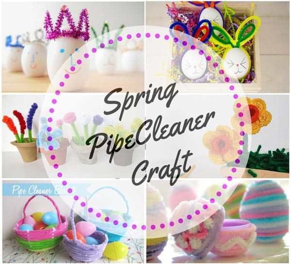 Spring Pipe Cleaner Craft