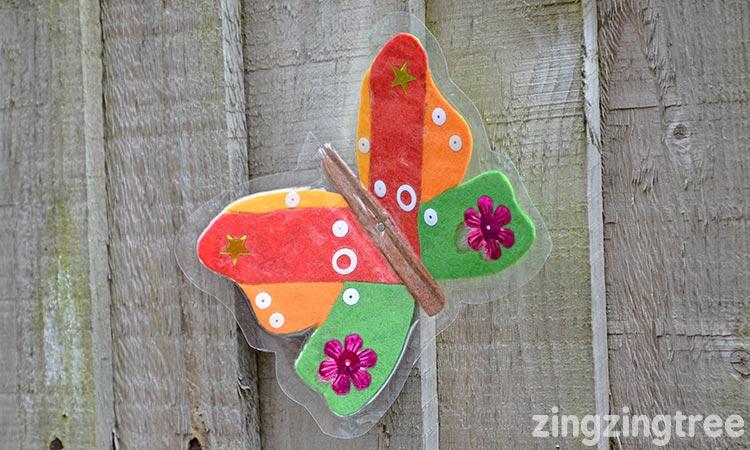 Felt Butterfly Craft