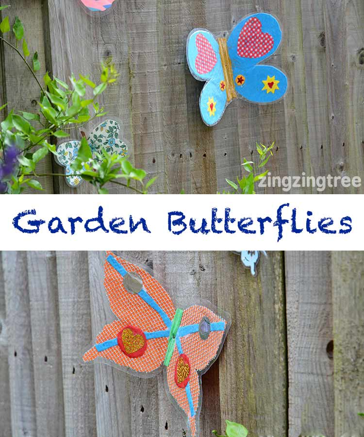 Garden-Butterfly-Collage-Crafts