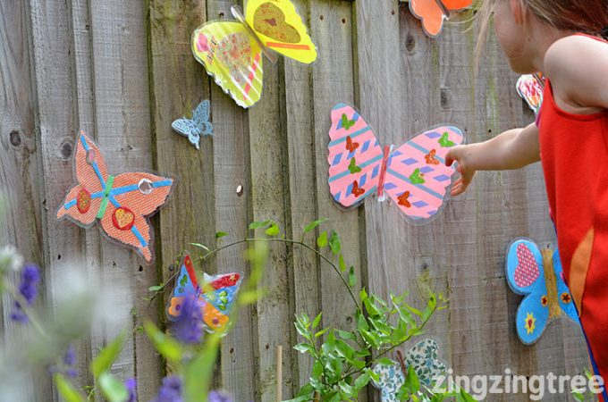 Garden Butterfly Craft