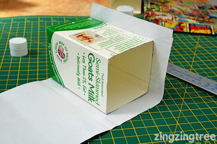 Milk Carton craft