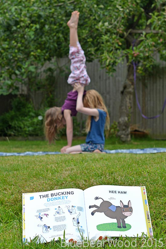 The Bucking Donkey Acrobatic Exercise