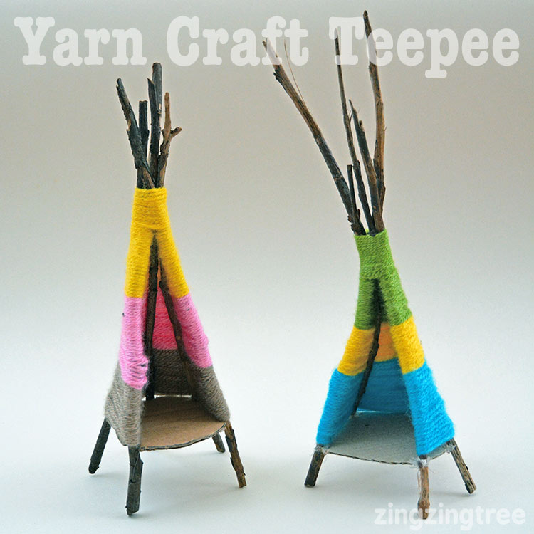 Yarn Craft Teepee