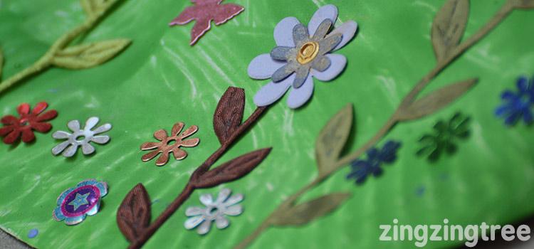 Paper Plate garden