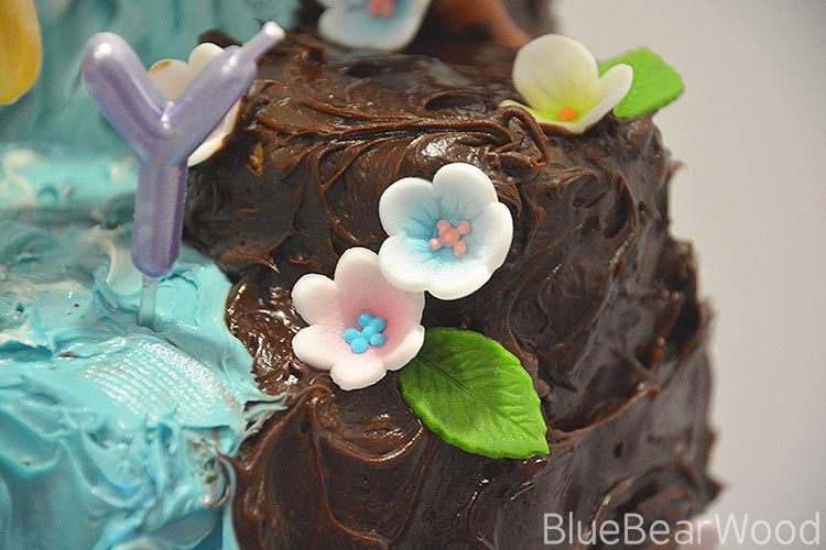 Waterfall Birthday Cake