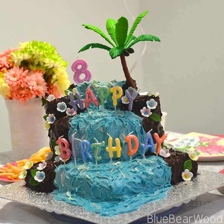 Waterfall Cake
