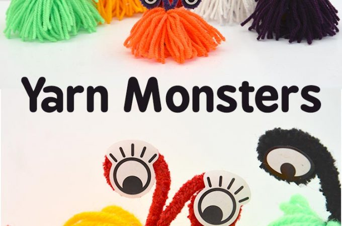 Learn How To Make These Delightful Yarn Monsters