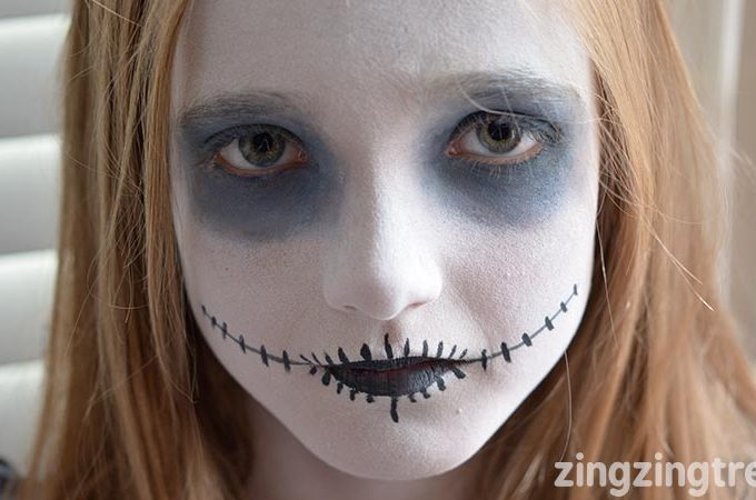 Use This Halloween Face Paint To transform Your kids Halloween Costume