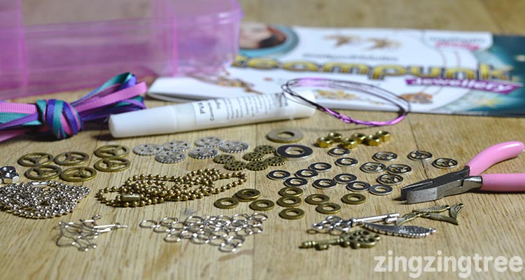 Interplay Steampunk Jewellery Kit