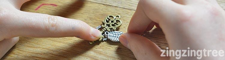 Steampunk necklace kit