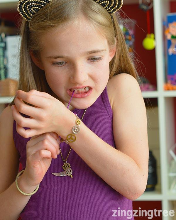 Steampunk Cog Necklace and Bracelet