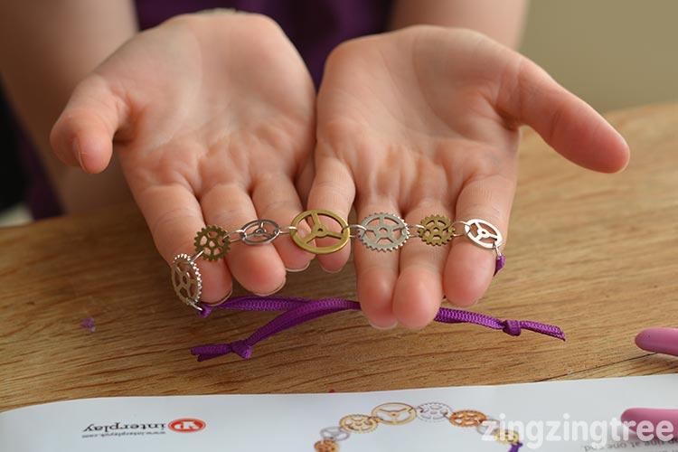Steampunk cog wheel bracelet