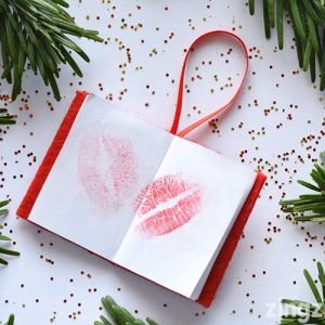 Book Of Kisses Christmas Decoration