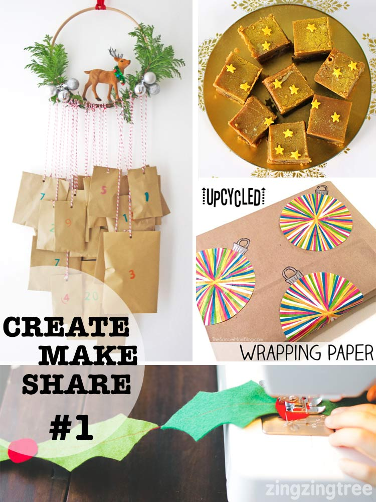 Creat Make Share #1 Christmas Crafts