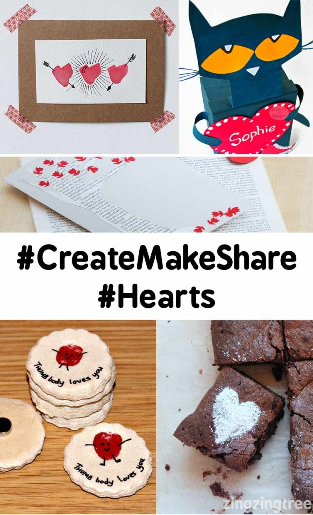 CreateMakeShare Heart Crafts