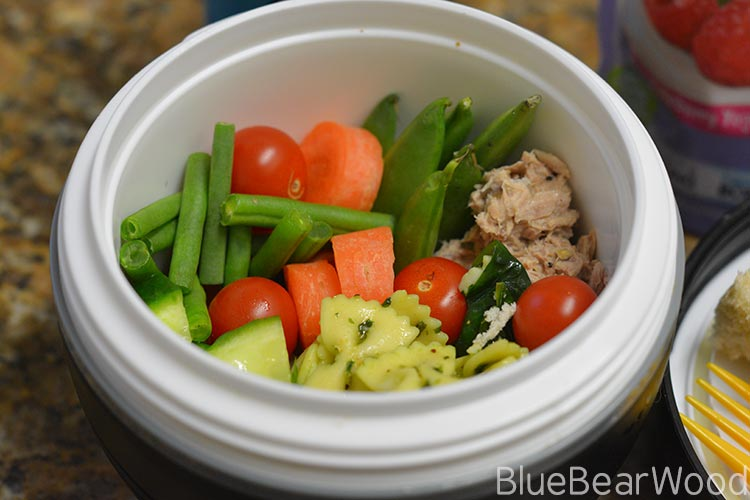 Tuna Mayo Salad Bowl Packed Lunch – #MoreThanASandwhich