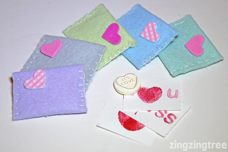 Sweetheart Valentine Envelopes