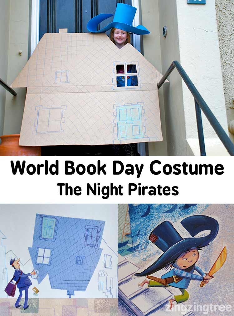 World Book Day Costume The Night Pirates