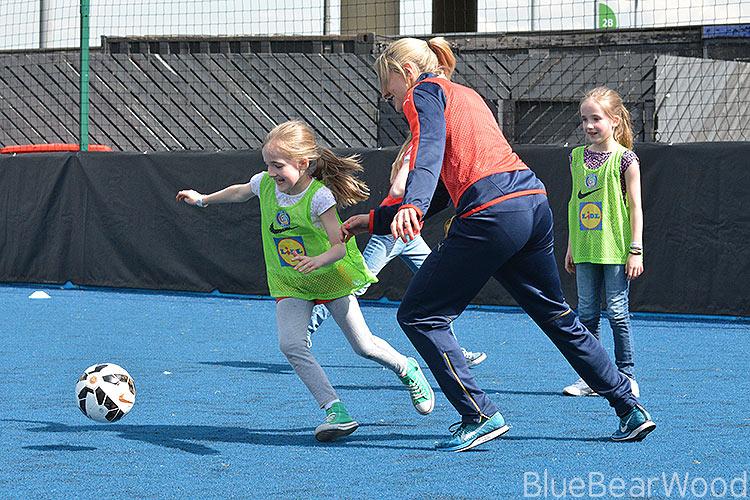 Girl's football