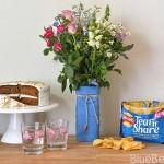 Upcycled Milk Carton Flower Vase