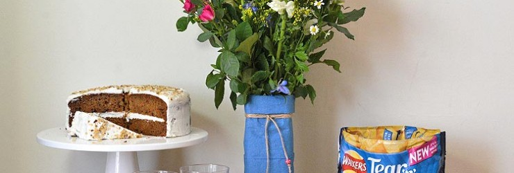 DIY Upcycled Milk Carton Flower Vase Hack