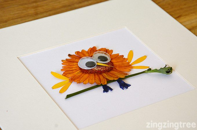 Dried Flower Bird Craft – Germini Flower