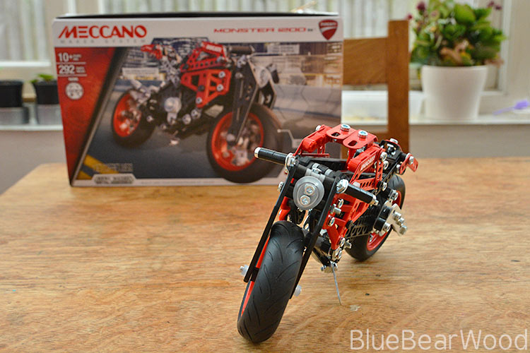 Meccano Motorbike Kit