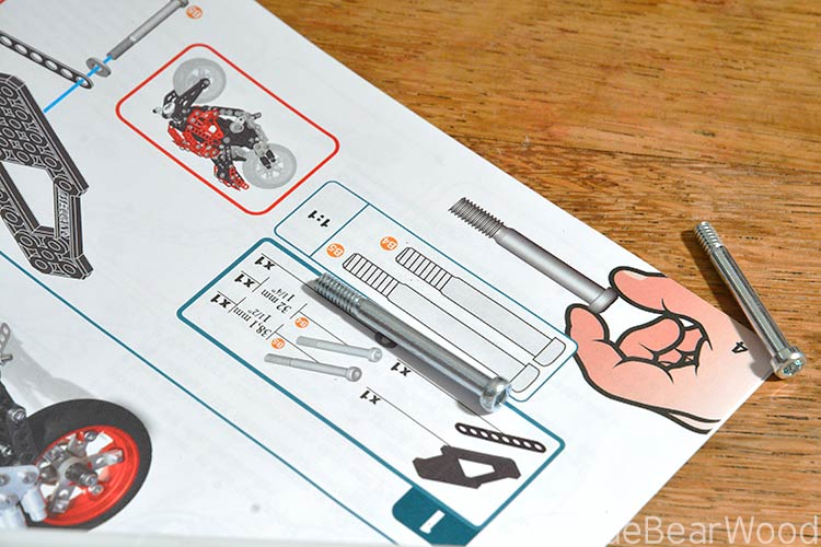Meccano ducati monster instruction manual