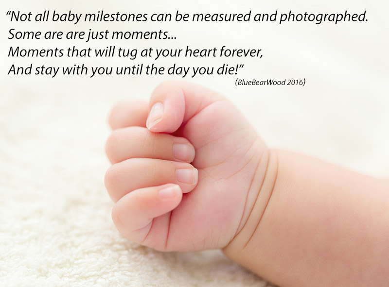 Baby Milestones Can't Always Be Measured Or Photographed