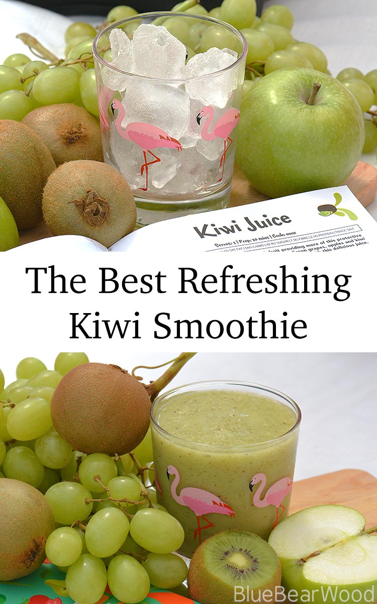 The best refreshing smoothie ever in under 10 minutes. My kids love this.