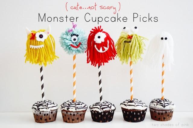 Yarn Monster Cake Topper