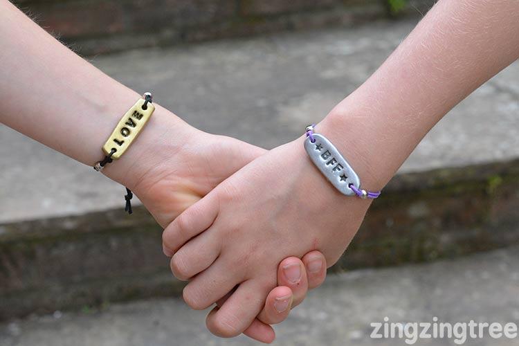 bff tag jewellery bracelet