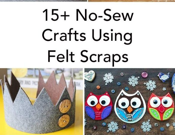 15+ Felt Scrap Crafts You Will Want To Make