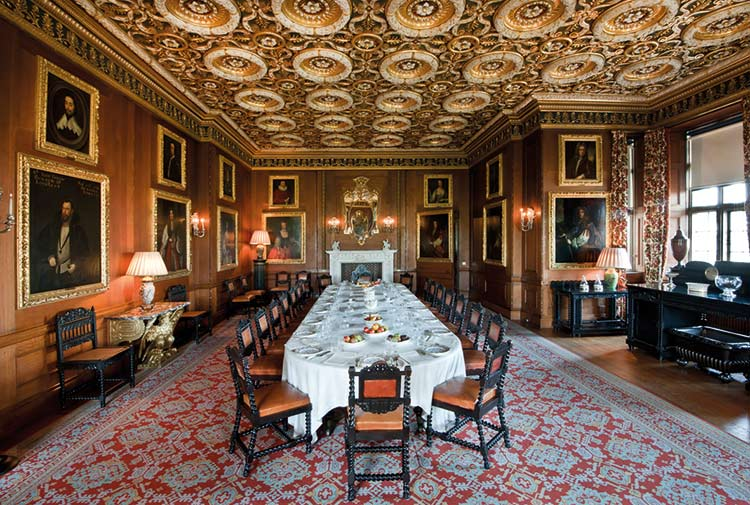 Longleat House Dining Room