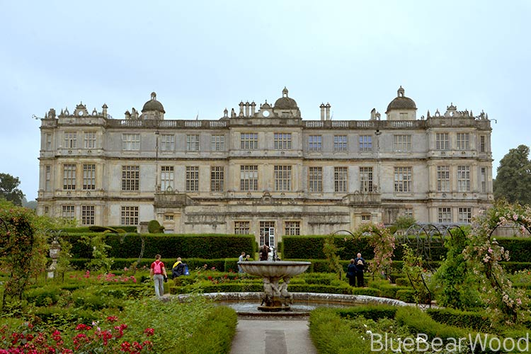 The back of Longleat House
