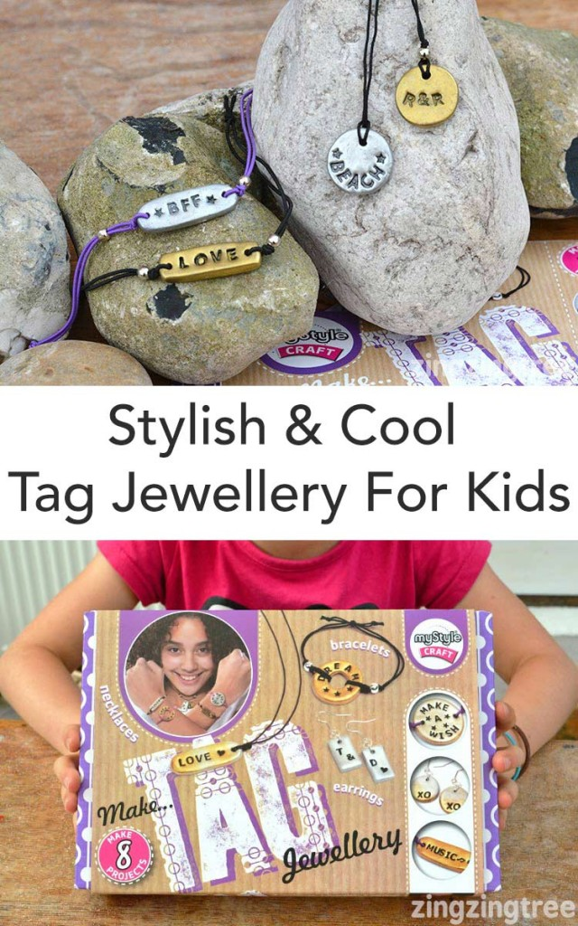 My Style Tag Jewellery Kit For Kids