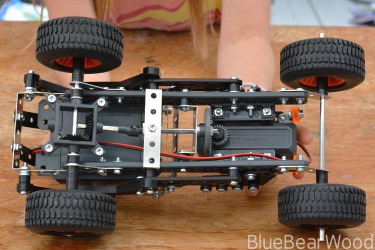 meccano 4x4 off road truck