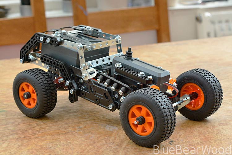 Meccano 4X4 Off-Road Truck Review: Engineering Love in a box
