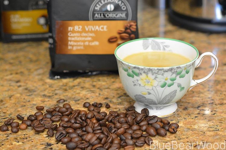 Peeling Coffee Beans