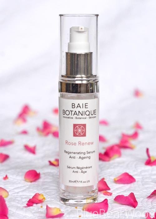 baie botanique rose renew anti-aging serum
