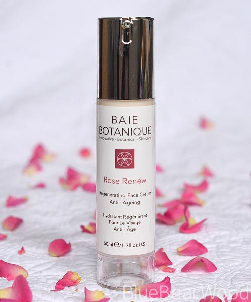 baie botanique rose renew face cream