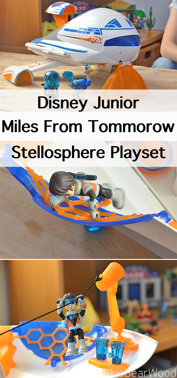 Space Toys For Kids ... Disney Juniors Miles From Tomorrow Stellosphere Playset