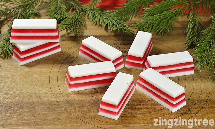 How to make Candy Cane Christmas Soad