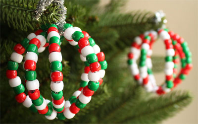pipe cleaner baubles
