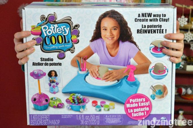 How Entertaining Is The 'Pottery Cool' Kids Pottery Wheel?